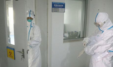 deadly H7N9 strain of bird flu or SARS