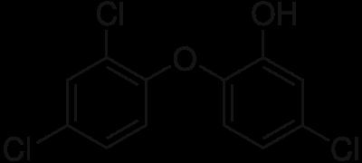 400px-Triclosan.svg