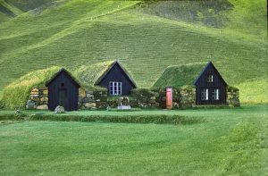 Grassodenhäuser